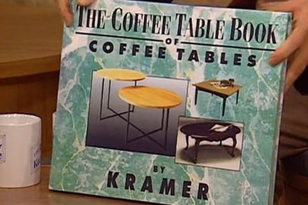A Coffee Table Book…about Coffee Tables!